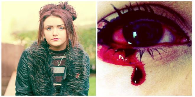 El extraño caso de la chica que sangra por los ojos y oídos