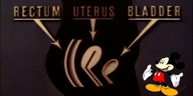 corto sobre la menstruación de WALT DISNEY