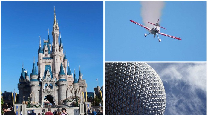 Prohibido sobrevolar los parques Disney de EE.UU. ¿Por qué?