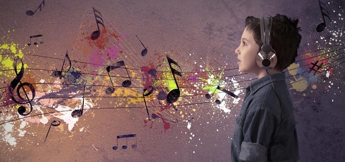 tipos de sinestesia, música color