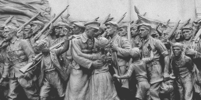 Despedida de los soldados en 10 datos de la 1ª Guerra Mundial