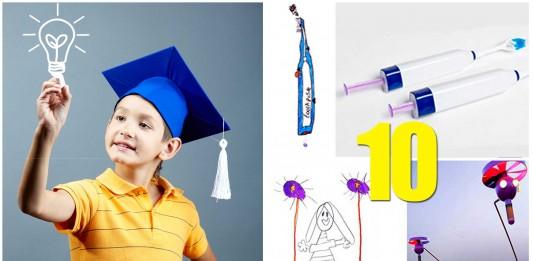 10 geniales Inventos ideados por niños (y hechos realidad)