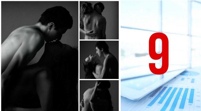 9 curiosidades estadísticas sobre sexo