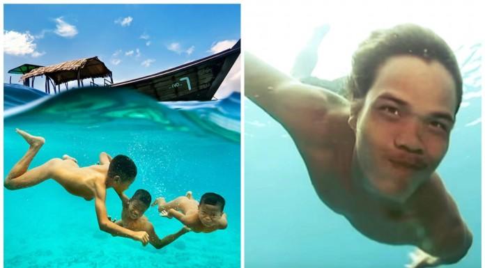 """El increíble poder de los """"niños-delfín"""" del mar de Andaman"""