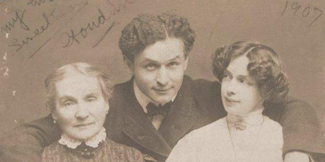 Fotografía antigua Harry Houdini