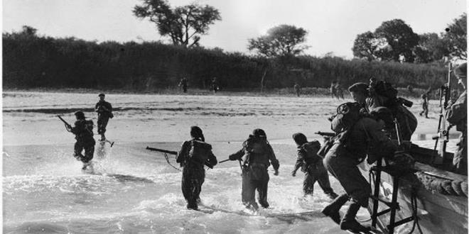 Island Ramree cuando los cocodrilos devoraron a casi 1.000 soldados