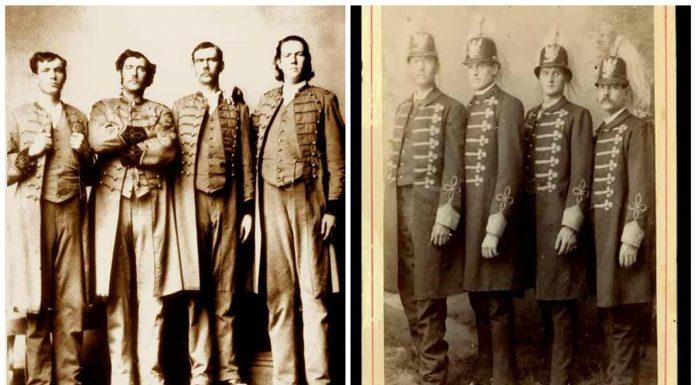 La historia de los hermanos gigantes de Texas