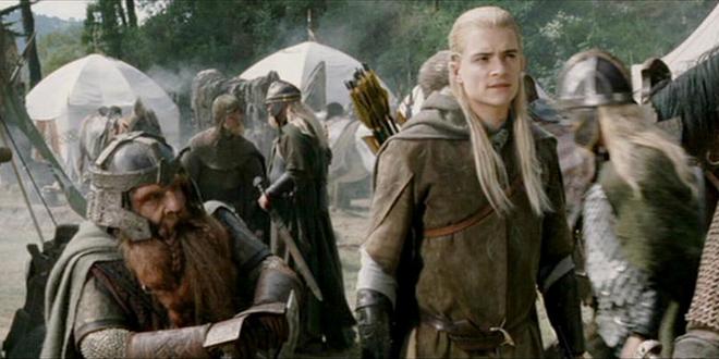 Resultado de imagen de Elfos y Enanos de El Señor de los Anillos