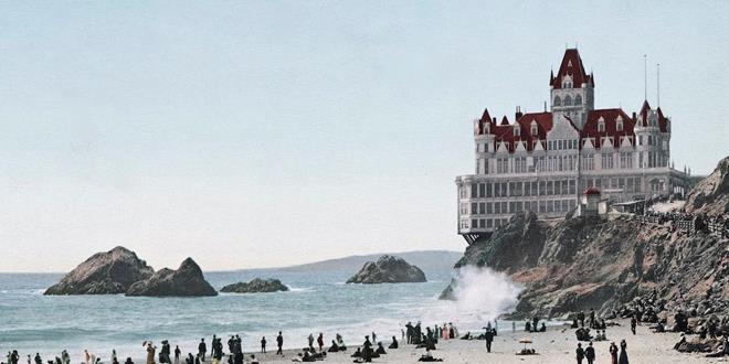 """La asombrosa historia de """"la casa del acantilado"""" de San Francisco"""