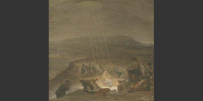 Imagen de 7 obras de arte con OVNIS