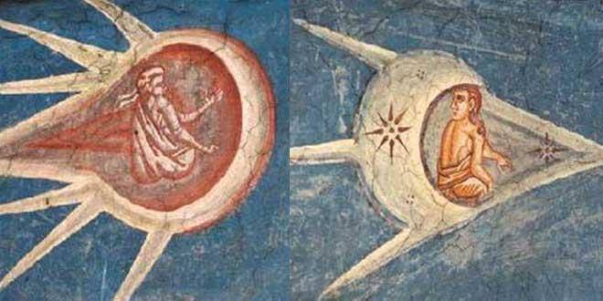 7 obras de arte con OVNIS: Crucifixión