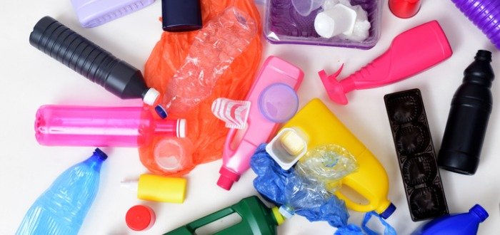 objetos de PVC