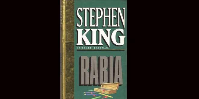 """""""Rabia"""" la novela maldita de Stephen King no volverá a imprimirse"""