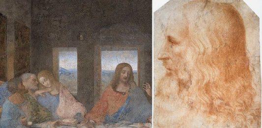 La curiosa historia del Jesús y el Judas de la Última Cena de Da Vinci
