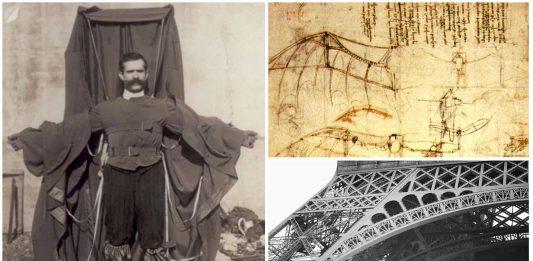 El hombre que inventó el paracaídas y murió probándolo.