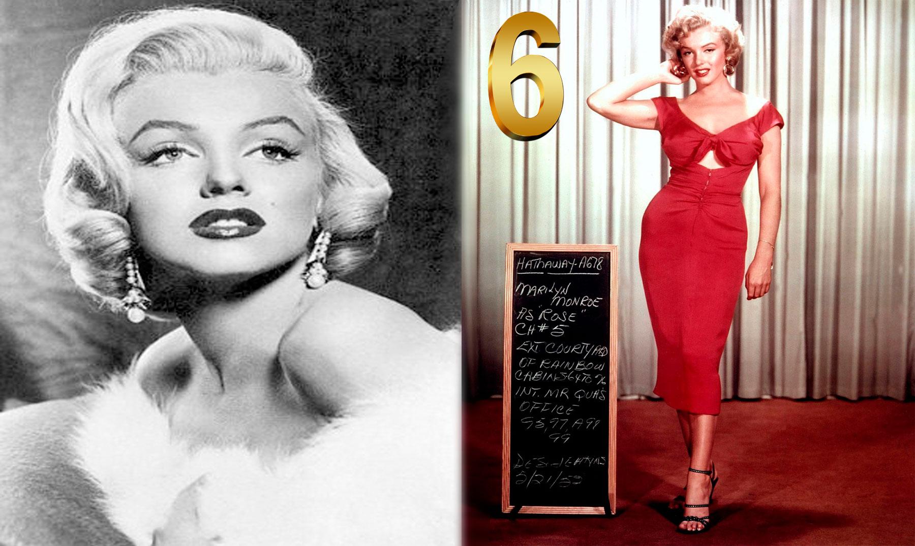 6 lecciones de estilo de Marilyn Monroe