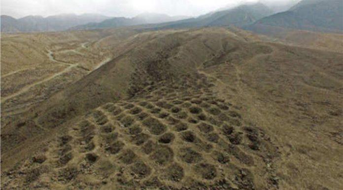 La misteriosa franja de agujeros en Perú