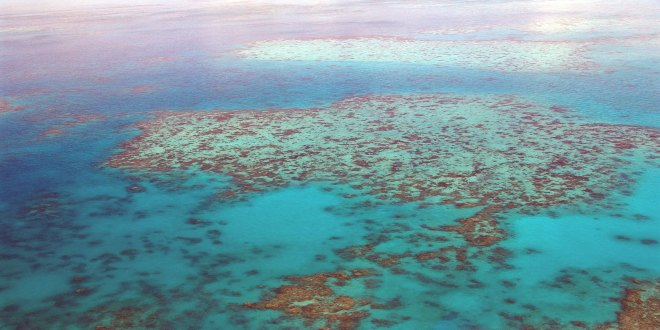 Imagen aérea Gran Barrera de Coral