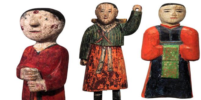 Las inquietantes muñecas coreanas que te guían al morir