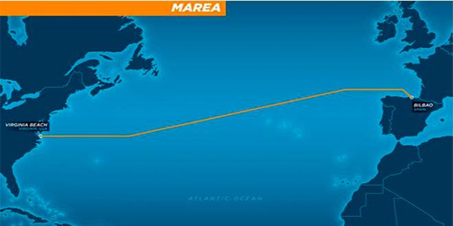 Proyecto MAREA: un nuevo CABLE SUBMARINO entre EE.UU. y España