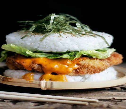 Sushi burger la nueva comida que está causando sensación