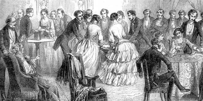 El enigmático fenómeno de las mesas parlantes