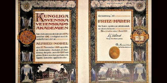 Alfred Nobel inventó los premios para sentirse bien consigo mismo.