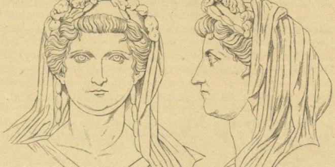 mujeres en la antigua roma