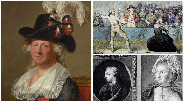 Hermafrodita y espía: Carlos, Genoveva, Luisa, Augusto d'Éon