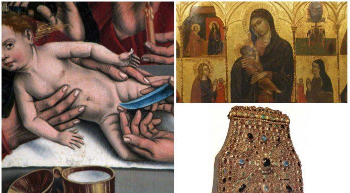 Prepucios, pañales, suspiros... las reliquias más raras conservadas por la iglesia