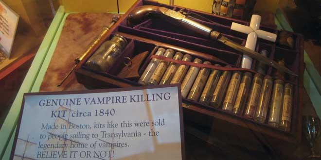Según las creencias populares, ¿cómo te conviertes en vampiro?