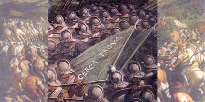 La Batalla de Anghiari, la pintura perdida de Leonardo