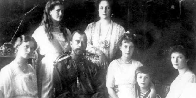 La terrible muerte de las hijas del Zar, Olga, Tatiana, María y Anastasia