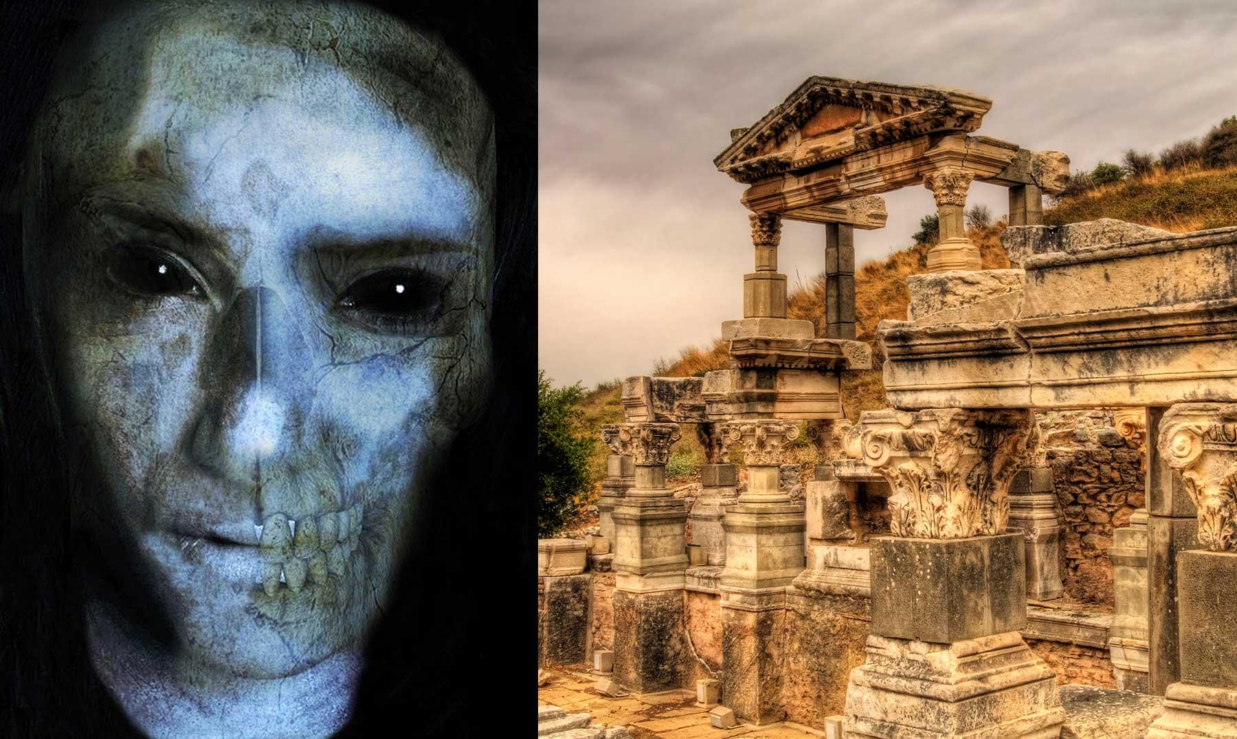 Tumbas zombi en la antigua grecia supercurioso for Costumbres de grecia