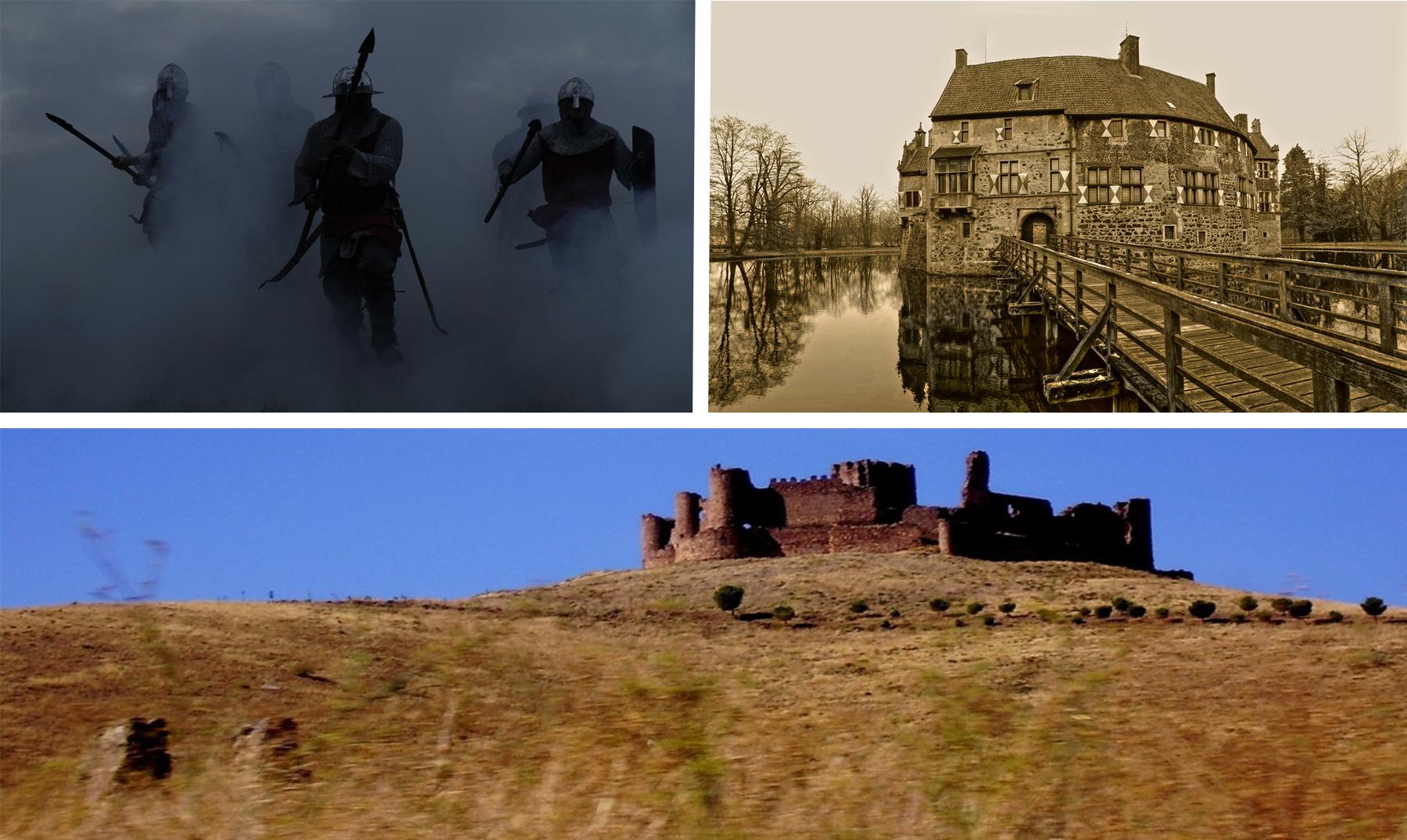 Si asaltaras un castillo medieval, ¿cómo lo harías?
