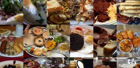 Así son los desayunos alrededor de todo el mundo
