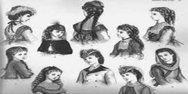 Los locos peinados de la época victoriana