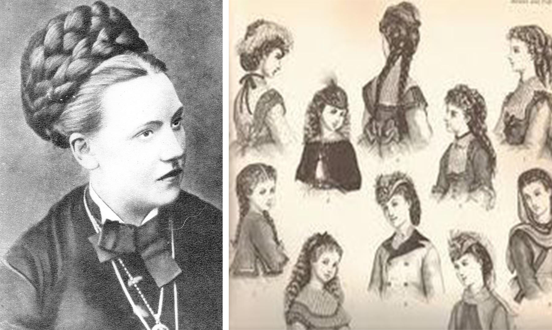 Los locos peinados de la poca victoriana supercurioso for Imagenes de epoca contemporanea
