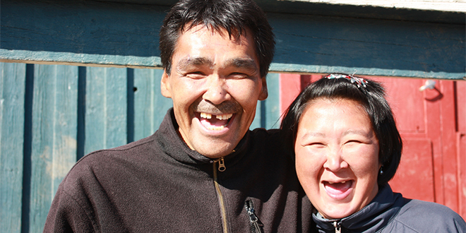 pareja inuit