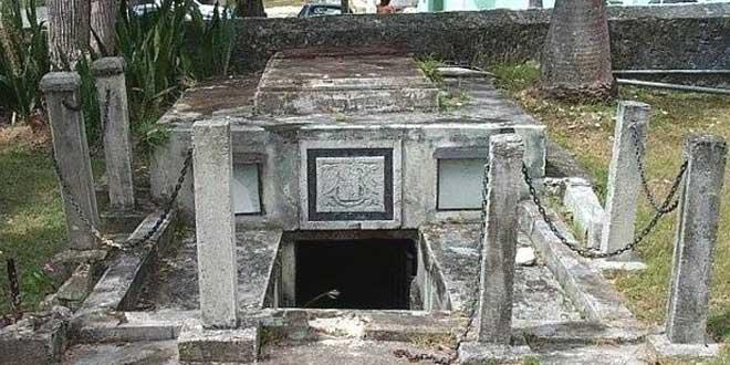 El extraordinario caso de los ataúdes móviles de Barbados