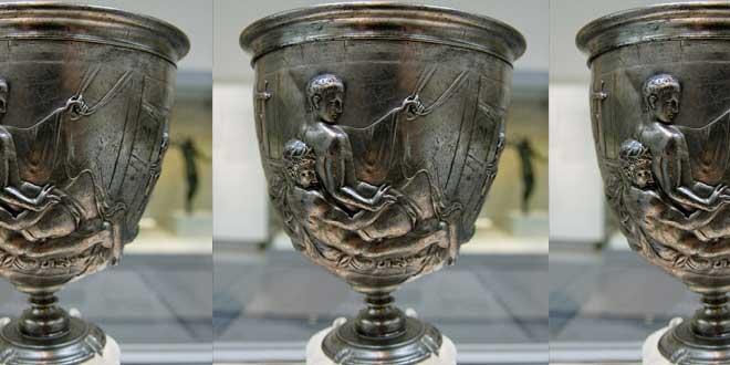 La Copa Warren, se calcula que data del I d.C.