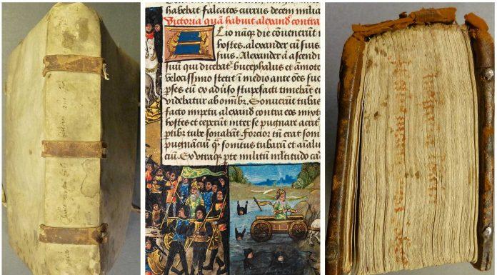 Lo que ocultan muchos libros antiguos en su lomo