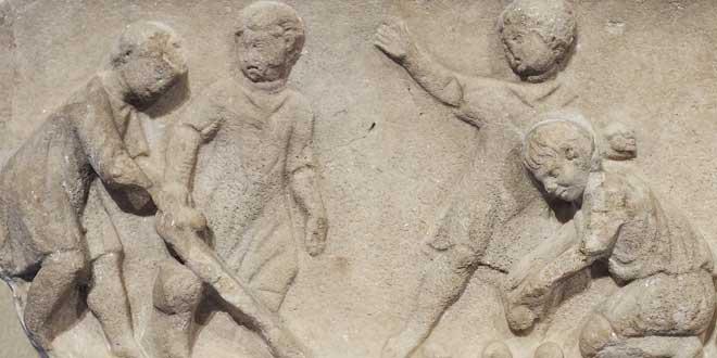 Ser niño en la antigua Roma