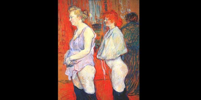 La prostitución en el siglo XIX en Francia