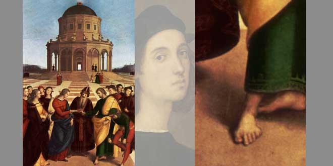 Porqué Rafael pintaba 6 dedos a algunos de sus personajes