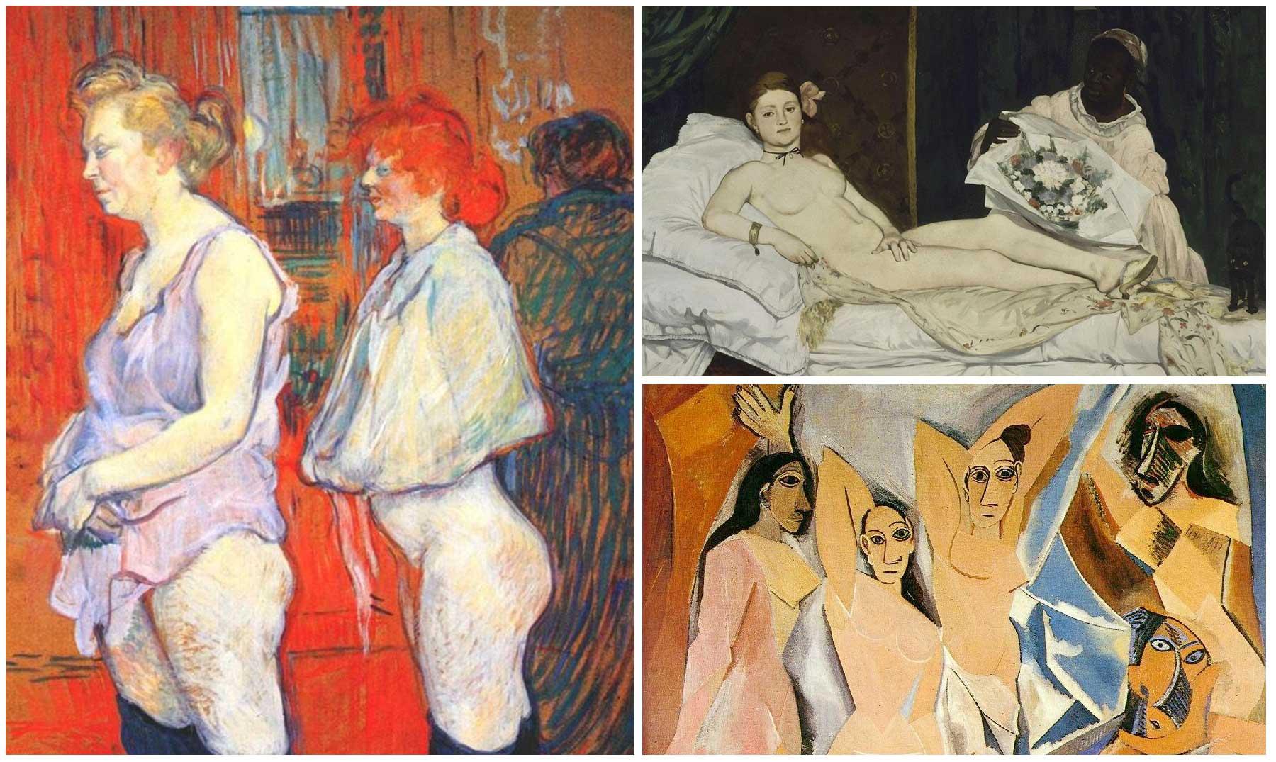 prostitutas en la pintura necesidades de las prostitutas