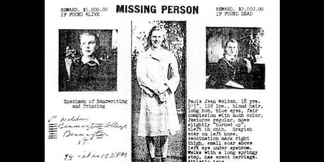 """El """"Triángulo de Bennington"""", 5 desapariciones y ninguna explicación"""