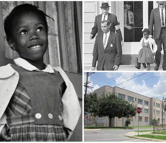 El duro curso escolar de Ruby Bridges, la 1a. niña negra en la integración escolar americana