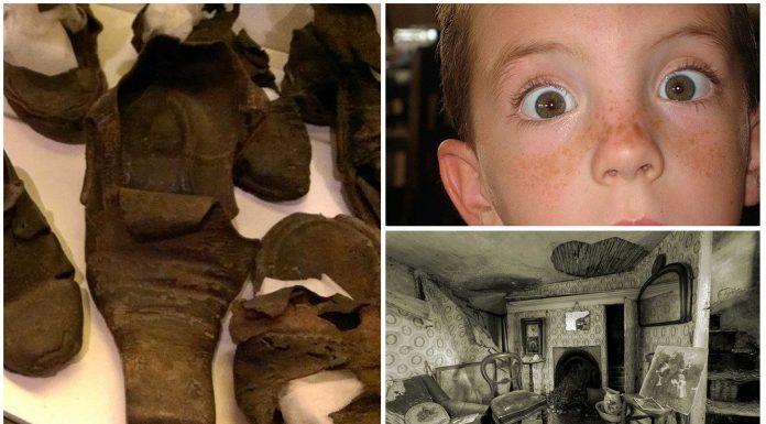 Los misteriosos Zapatos antiguos escondidos en los cimientos de edificios ¿Por qué?