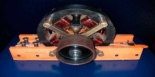 inventos de Nikola Tesla, motor de corriente alterna